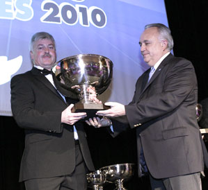 RML AD Group, LMS Champions 2010. Phil Barker, Team Manager