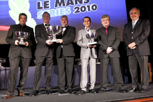 RML AD Group, LMS Champions 2010. Phil Barker, Team Manager, with Ray Mallock, CEO