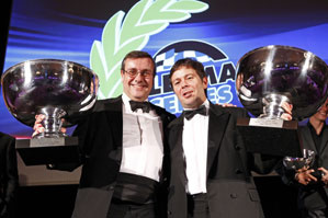 RML AD Group, LMS Champions 2010. Mike Newton and Thomas Erdos